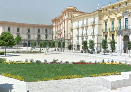 Piazza Libertà verde pubblico Avellino